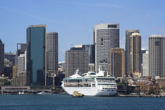 Sydney harbour quay crop Stock Photography