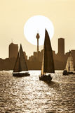 Sydney Harbour Sailing Australia stock photo