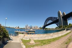Sydney Harbour Skyline Royalty Free Stock Photo