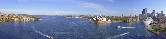 Sydney Harbour, Sydney Australia. Sydney Harbour with City Skyline, Sydney, Australia Royalty Free Stock Photos