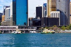 Circular Quay Ferry Terminal, Sydney Harbour, Australia Royalty Free Stock Photos