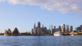 Sydney Harbour time lapse stock footage