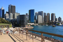 Sydney Harbour. View of Sydney Harbour, NSW Australia. The Rocks Royalty Free Stock Photos