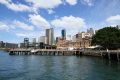 Sydney Harbour. View of Sydney Harbour, NSW Australia. The Rocks Stock Photography
