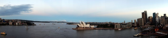 Sydney Harbour view Stock Photos