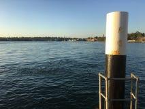 Sydney Harbour von Woolwich-Pier Lizenzfreie Stockbilder