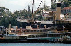 Sydney Heritage Fleet Royalty Free Stock Photography