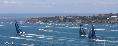 Sydney - Hobart Yacht Race 2014 Fotografia de Stock Royalty Free