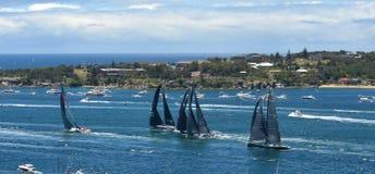 Sydney Hobart Yacht Race 2013 Fotos de Stock