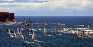Sydney Hobart Yacht Race 2013 Stockfotografie
