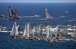 Sydney Hobart Yacht Race 2013 Stockfotos