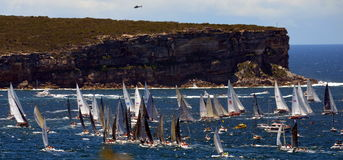 Sydney Hobart Yacht Race 2013 Imagem de Stock