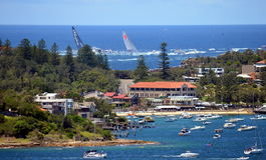 Sydney Hobart Yacht Race 2013 Stockfoto