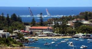 Sydney Hobart Yacht Race 2013 Lizenzfreie Stockfotos