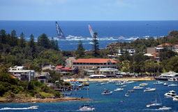 Sydney Hobart Yacht Race 2013 Lizenzfreies Stockbild