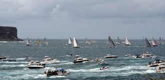 Sydney Hobart Yacht Race 2012 Photos stock