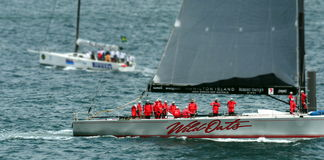 Sydney Hobart Yacht Race 2012 Stockfotos