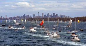 Sydney Hobart Yacht Race 2012 Imagens de Stock