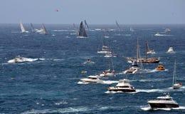 Sydney Hobart Yacht Race 2012 Imagem de Stock