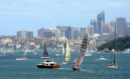 Sydney Hobart Yacht Race 2012 Photo stock