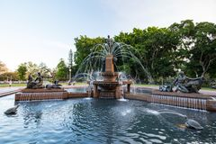 Sydney Hyde Park Archibald Fountain Images stock