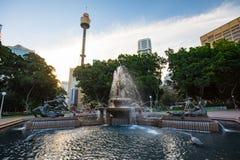 Sydney Hyde Park Archibald Fountain Royalty Free Stock Photography