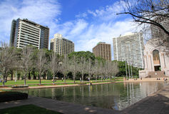 Sydney Hyde Park Stock Photography