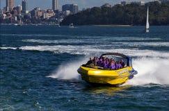 Sydney jet boat Stock Images