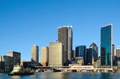 Sydney kółkowy quay w ranku Fotografia Stock