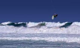 Sydney kite surfer Royalty Free Stock Image