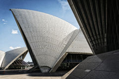 Sydney landmark opera house view in australia on sunny day Stock Photography