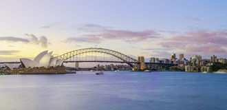 Sydney Landmarks Royalty Free Stock Photos