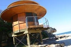 Sydney Lifeguard Station. Lifeguard station at Tamarama beach, Sydney, Australia royalty free stock photo