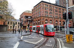 Sydney light rail Stock Photography
