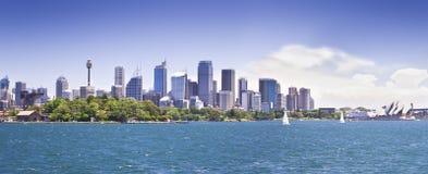 Sydney linia horyzontu Fotografia Royalty Free