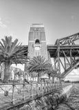 SYDNEY, LISTOPAD - 8, 2015: Miasta schronienia most Sydney jest visite Fotografia Stock
