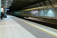 Sydney Lotniskowa Domowa stacja kolejowa obraz royalty free