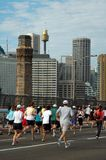 Sydney marathon Royalty Free Stock Photos