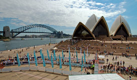 Sydney marathon stock photo