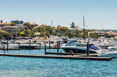 Sydney Marina Royalty Free Stock Photos