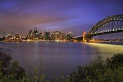 Sydney Milsons Green City Set royaltyfri bild