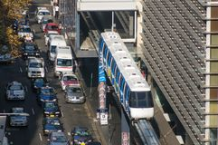 Sydney mono rail -27 march,2010 Stock Photography