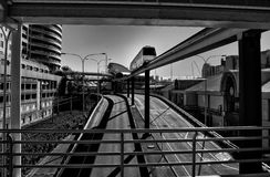 Sydney Monorail Foto de Stock Royalty Free