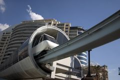 Sydney Monorail Royalty Free Stock Images