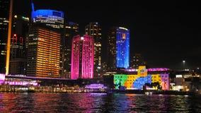 Sydney museum av samtida konst under livlig 2015 arkivfilmer