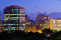 Sydney nachts Stockbild