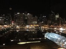 Sydney nachts Lizenzfreie Stockfotografie