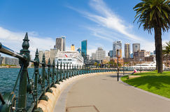 Sydney, New South Wales, Australia. Sydney Central Business District from Dawes Point Park, Australia royalty free stock photography