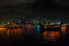 Sydney boats Royalty Free Stock Photos