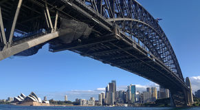 Sydney. Nice Cambridge and Sydney Opera on the ocean Stock Photography